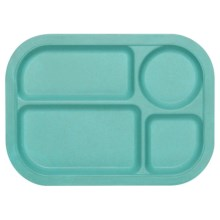 Now Designs Ecologie Lunch Tray in Turquoise - Closeouts
