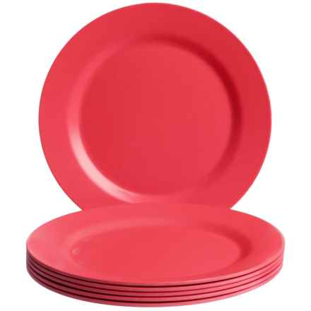 Now Designs Ecologie Side Plates - Set of 6 in Red - Closeouts