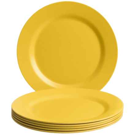 Now Designs Ecologie Side Plates - Set of 6 in Sunshine - Closeouts