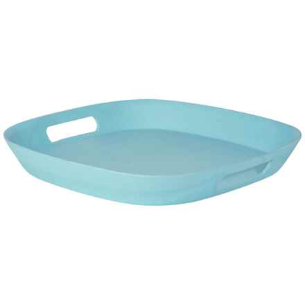 Now Designs Ecologie Tray in Turquoise - Closeouts