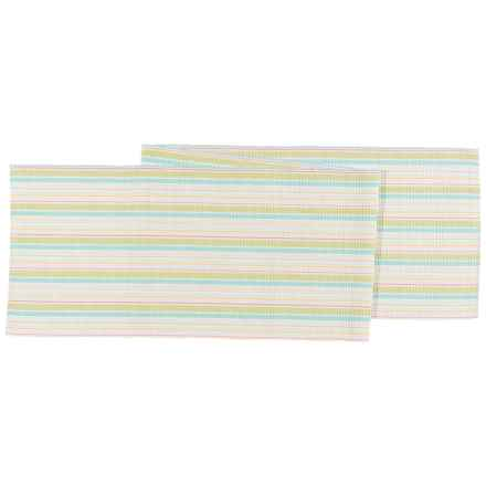 "Now Designs Finsbury Striped Table Runner - 13x72"" in Multi - Closeouts"