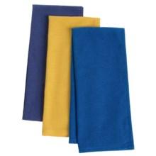 Now Designs Floursack Tea Towels - Set of 3 in Provencal/Lemon/Royal - Closeouts