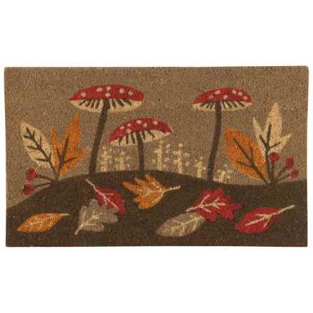 "Now Designs Harvest Botanicals Mat - 18x30"" in Brown Multi - Closeouts"