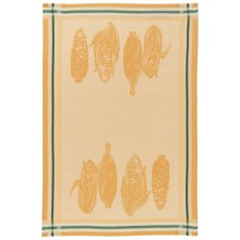 Now Designs Jacquard Dish Towel in Market Corn - Closeouts