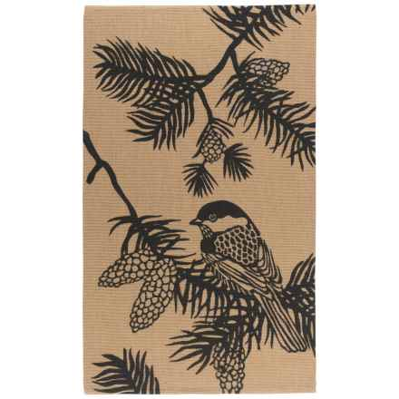 Now Designs Jute Accent Rug - 3x5' in Chickadee - Closeouts