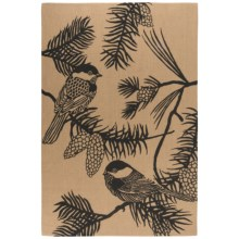 Now Designs Jute Accent Rug - 4x6' in Chickadee - Closeouts