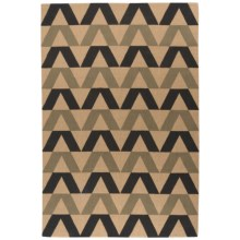 Now Designs Jute Accent Rug - 4x6' in Geometry - Closeouts