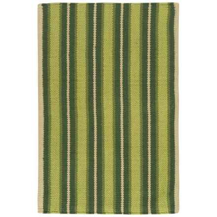"Now Designs Nova Stripe Pine Scatter Rug - 24x36"" in Pine - Closeouts"