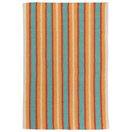 "Now Designs Nova Stripe Pool Scatter Rug - 24x36"" in Pool - Closeouts"
