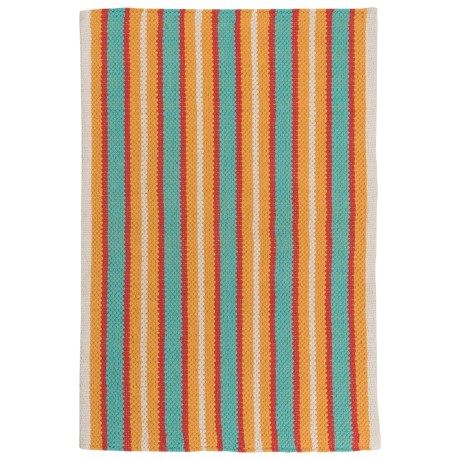"Now Designs Nova Stripe Pool Scatter Rug - 24x36"" in Pool"