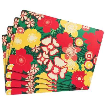 Now Designs Placemats - Set of 4 in Borneo - Closeouts