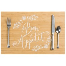 Now Designs Printed Bamboo Placemat in Bon Appetit - Closeouts