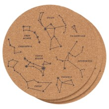 Now Designs Printed Cork Trivets - Set of 3 in Galaxy - Closeouts