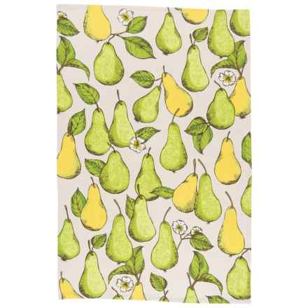 Now Designs Printed Kitchen Towel in Pears - Closeouts