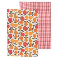Now Designs Printed Tea Towels - Set of 2 in Grove - Closeouts
