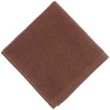 Now Designs Ripple Weave Dishcloth in Chocolate - Closeouts