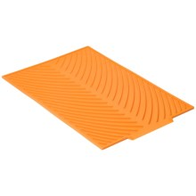"""Now Designs Silicone Glass Drying Mat - 15x10"""" in Kumquat - Closeouts"""