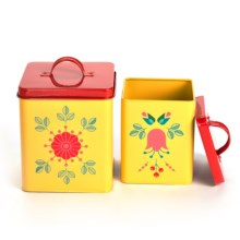 Now Designs Storage Tins - Set of 2 in Lilja - Closeouts