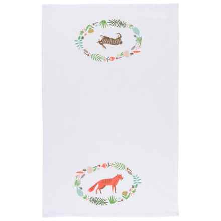 Now Designs Tea Towel in Animal Kingdom - Closeouts