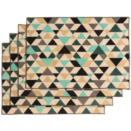 Now Designs Tessellate Placemats - Set of 4 in Tessellate - Closeouts