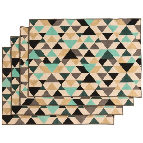 Now Designs Tessellate Placemats - Set of 4 in Tessellate
