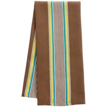 Now Designs Woven Stripe Dish Towel in Brown - Closeouts