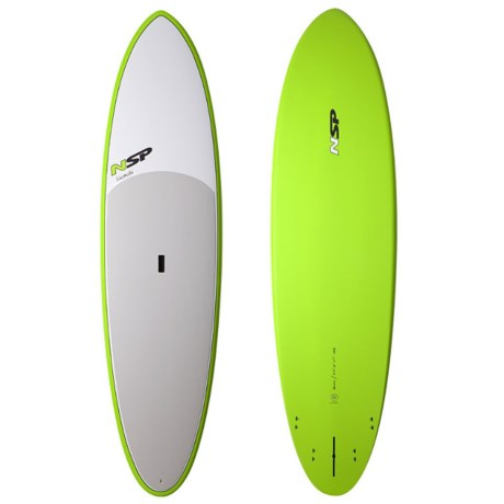 NSP 2004 Classic Elements Flatwater Stand-Up Paddle Board in Green