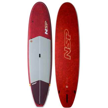 """NSP Coco Cruise Stand-Up Paddle Board - 9'8"""" in Red - Overstock"""