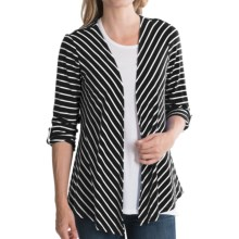 NTCO Jasmine Jacket - Open Front (For Women) in Black - Closeouts