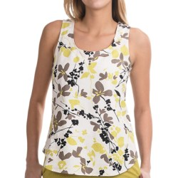 NTCO Kyoto Tea Tank Top (For Women) in Kyoto Citron