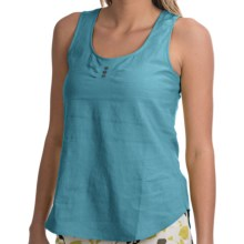 NTCO Kyoto Tea Tank Top (For Women) in Lake - Closeouts