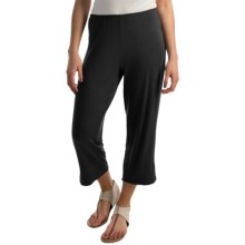 NTCO Monaco Crop Pants (For Women) in Black - Overstock