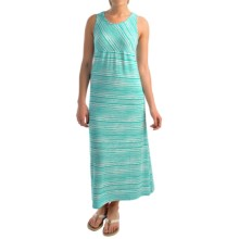 NTCO Monaco Maxi Dress - Sleeveless (For Women) in Jade Stripe - Overstock