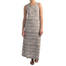 NTCO Monaco Maxi Dress - Sleeveless (For Women) in Java Stripe - Overstock