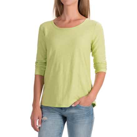 NTCO Samba T-Shirt - Long Sleeve (For Women) in Keylime - Closeouts
