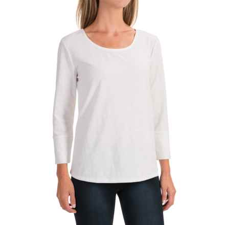 NTCO Samba T-Shirt - Long Sleeve (For Women) in White - Closeouts