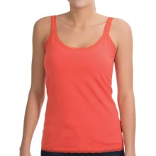 NTCO Top It Off Lace Tank Top (For Women) in Guava - Closeouts