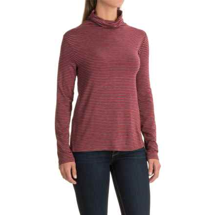 NTCO Uma Turtleneck - Long Sleeve (For Women) in Red - Closeouts