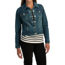NTCO World Market Denim Jacket (For Women) in Denim - Overstock