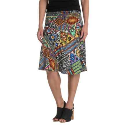 NTCO World Market Skirt - Rayon (For Women) in Santa Fe - Closeouts
