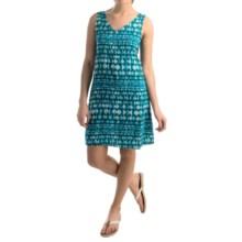 NTCO World Market Woven Shift Dress - Sleeveless (For Women) in Blue Topaz - Overstock