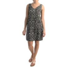 NTCO World Market Woven Shift Dress - Sleeveless (For Women) in Ikat - Overstock