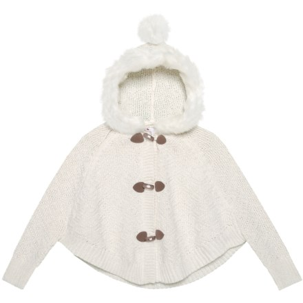 25aa0c6506 Nula Bug Hooded Cardigan Sweater (For Little Girls) in Cream - Closeouts