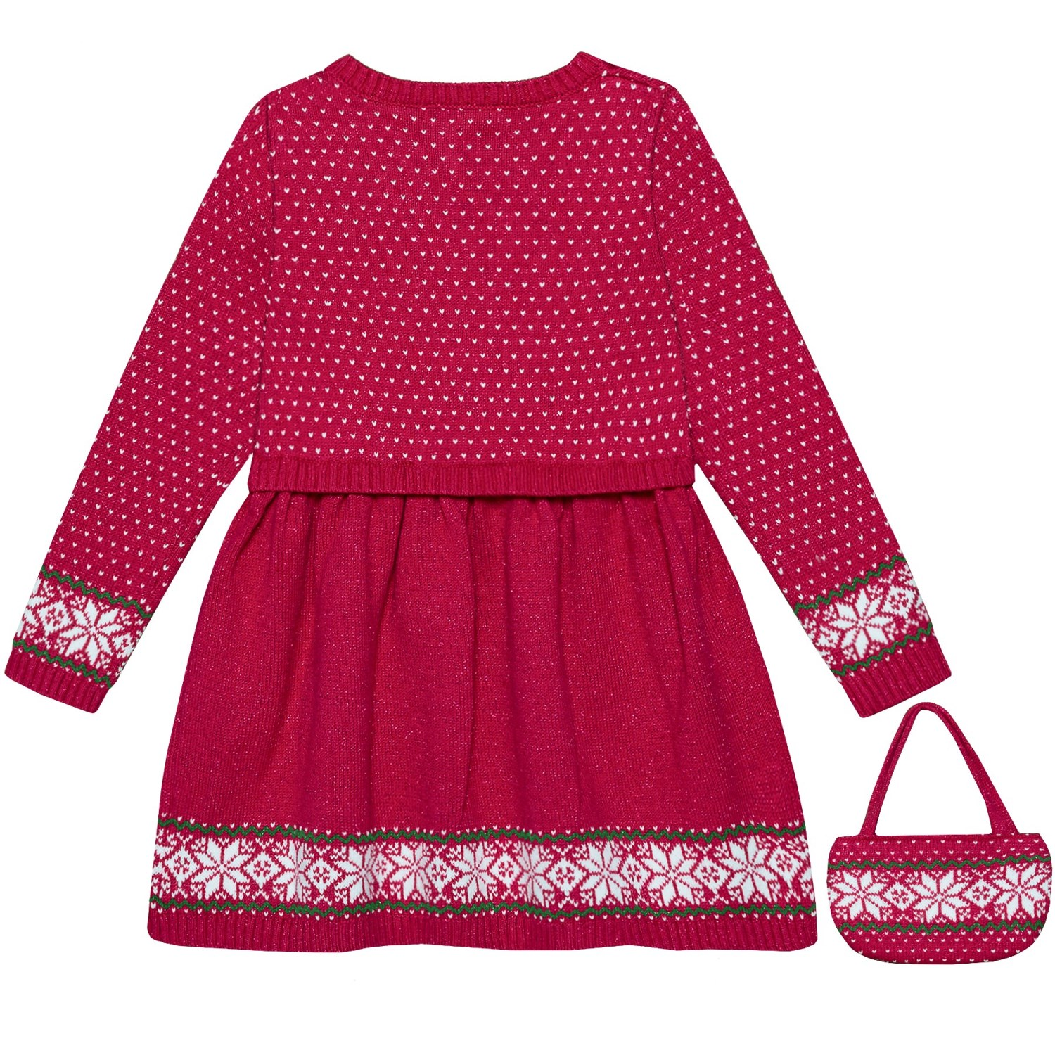 50cd73846a Nula Bug Sweater Dress and Purse Set - Long Sleeve (For Toddler Girls)