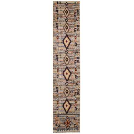 nuLOOM Contemporary Southwestern Style Floor Runner - 2x12' in Multi - Closeouts