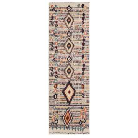 nuLOOM Contemporary Southwestern Style Floor Runner - 2x8' in Multi - Closeouts