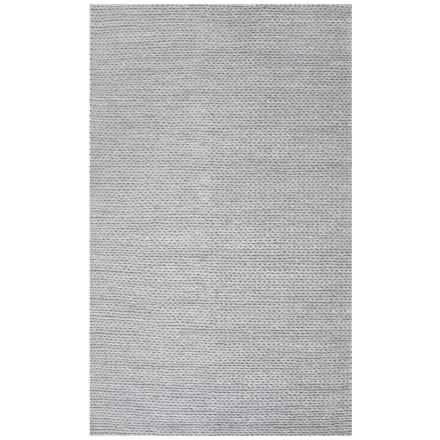 nuLOOM Grey Soft Hand-Braided Area Rug - 5x8', Wool-Cotton in Grey - Closeouts