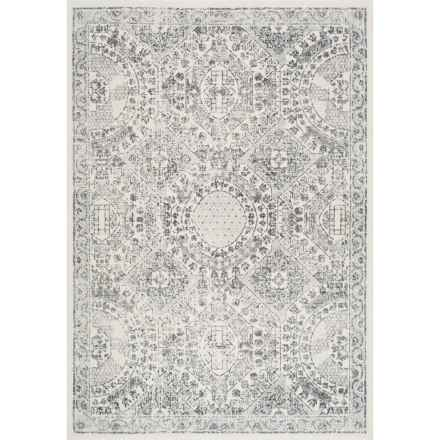"nuLOOM Transitional Medallion Area Rug - 5'x7'5"" in Grey - Closeouts"
