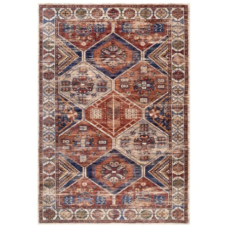 nuLOOM Transitional Scatter Accent Rug - 4x6' in Multi