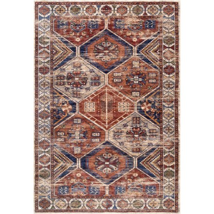 8cb8b892a5d nuLOOM Transitional Vintage Area Rug - 5x8  in Multi - Closeouts